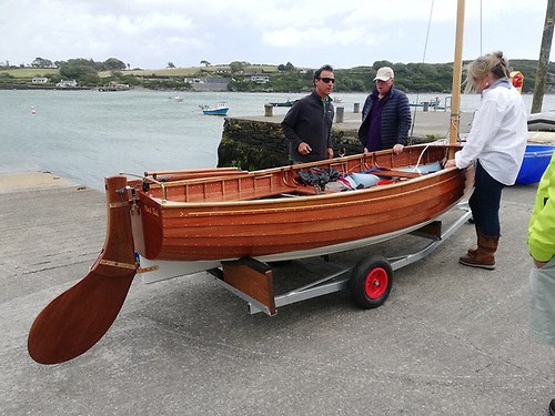 The new build 12 on the slipway in West Cork