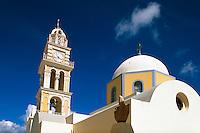 katholische Kirche in Fira, Insel Santorin (Santorini), Griechenland, Europa