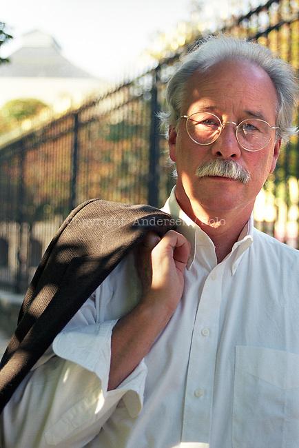 W. G. Sebald in 1999.