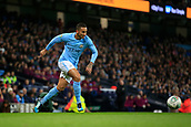 9th January 2018, Etihad Stadium, Manchester, England; Carabao Cup football, semi-final, 1st leg, Manchester City versus Bristol City; Danilo of Manchester City runs the ball into attack