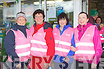 participating in the Centra think pink charity in Glenbeigh on Saturday l-r:  Breda Ashe-Stringer, Mary Riordan, Dympa Sheahan and Tricia O'Shea