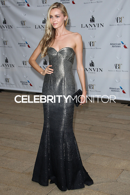 NEW YORK CITY, NY, USA - MAY 12: Valentine Zelyaeva at the American Ballet Theatre 2014 Opening Night Spring Gala held at The Metropolitan Opera House on May 12, 2014 in New York City, New York, United States. (Photo by Celebrity Monitor)