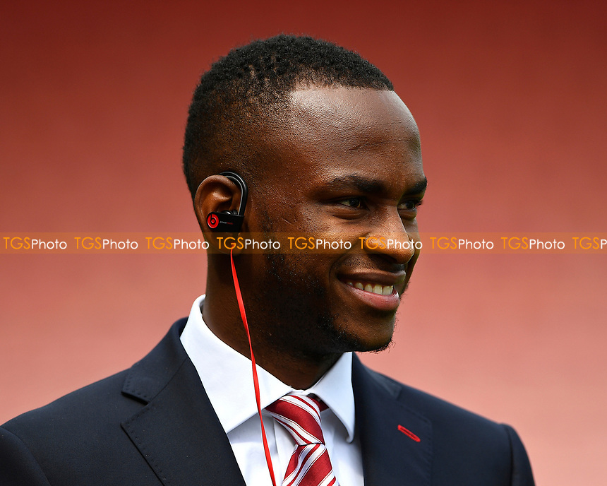 Saido Berahino of Stoke City during AFC Bournemouth vs Stoke City, Premier League Football at the Vitality Stadium on 6th May 2017