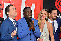 Ed Helms, Hannibal Buress, Annabelle Wallis &amp; Jake Johnson at the world premiere for &quot;TAG&quot; at the Regency Village Theatre, Los Angeles, USA 07 June  2018<br /> Picture: Paul Smith/Featureflash/SilverHub 0208 004 5359 sales@silverhubmedia.com