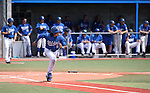 Western Nevada College Wildcats' Tony Roque runs in a college baseball game against Colorado Northwestern at John L. Harvey Field in Carson City, Nev., on Friday, April 11, 2014. <br /> Photo by Cathleen Allison/Nevada Photo Source