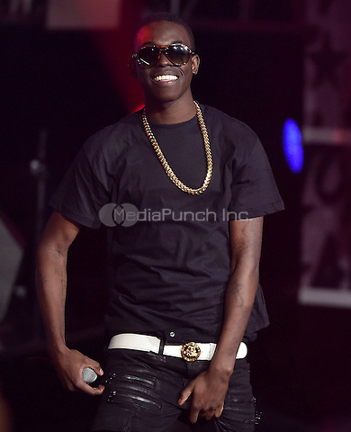 ATLANTA - SEPTEMBER 20: Bobby $hmurda performs at the BET Hip Hop Awards 2014 at the Boisfeuillet Jones Atlanta Civic Center on September 20, 2014 in Atlanta, Georgia. Credit: PGTulis/MediaPunch