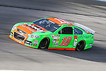 Sprint Cup Series driver Danica Patrick (10) in action during the Nascar Sprint Cup Series Duck Commander 500 practice at Texas Motor Speedway in Fort Worth,Texas.
