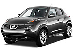 Front Three Quarter View  2011 Nissan Juke SV SUV Stock Photo