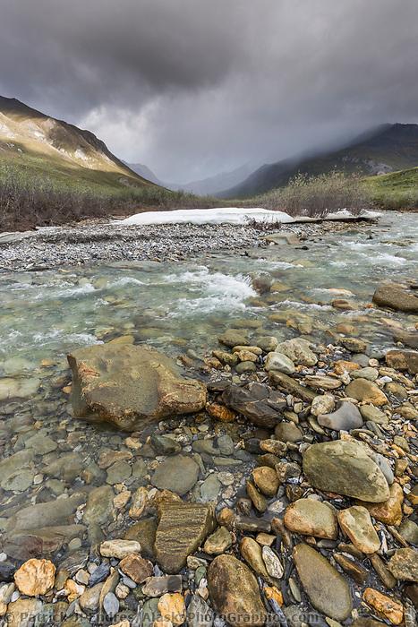 Springtime along the Matthews River in Arctic, Alaska