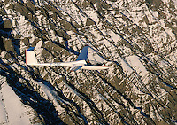 Segelflug, LS4, Alpen, Frankreich