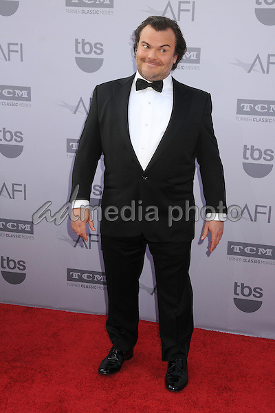 4 June 2015 - Hollywood, California - Jack Black. AFI 43rd Life Achievement Award Gala Tribute To Steve Martin held at the Dolby Theatre. Photo Credit: Byron Purvis/AdMedia