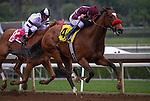 May 9, 2015: My Sweet Addiction with Mike Smith up win the Grade I Vanity Stakes at Santa Anita Park in Arcadia, California. Zoe Metz/ESW/CSM