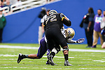 Southern Miss Golden Eagles offensive lineman Norman Price (72) in action during the Zaxby's Heart of Dallas Bowl game between the Washington Huskies and the Southern Miss Golden Eagles at the Cotton Bowl Stadium in Dallas, Texas.