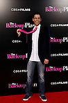 US actor Adam Tsekhman matches his tie with the backdrop as he arrives at the USA/LA premiere of CBS Films' 'The Back-Up Plan' held at the Regency Village Theatre in Westwood in Los Angeles on April 21, 2010. The movie is a comedy that explores dating, love, marriage and family in reverse.