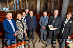 St John's Parish launching their 150 year anniversary starting this year and its October 2019 to October 2020 in the church on Saturday night.<br /> Front l to r: Fr Tadgh Fitzgerald, Bishop Ray Browne and Norma Foley.<br /> Back l to r: Fr Francis Nolan, Elizabeth Costello, Dave Hegarty, Fr John O'Donoghue and Canon Seamus Linnane.