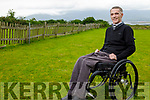 Ted Griffin from Killorglin, who is wheelchair user and uses poetry as a way to help his mental health.
