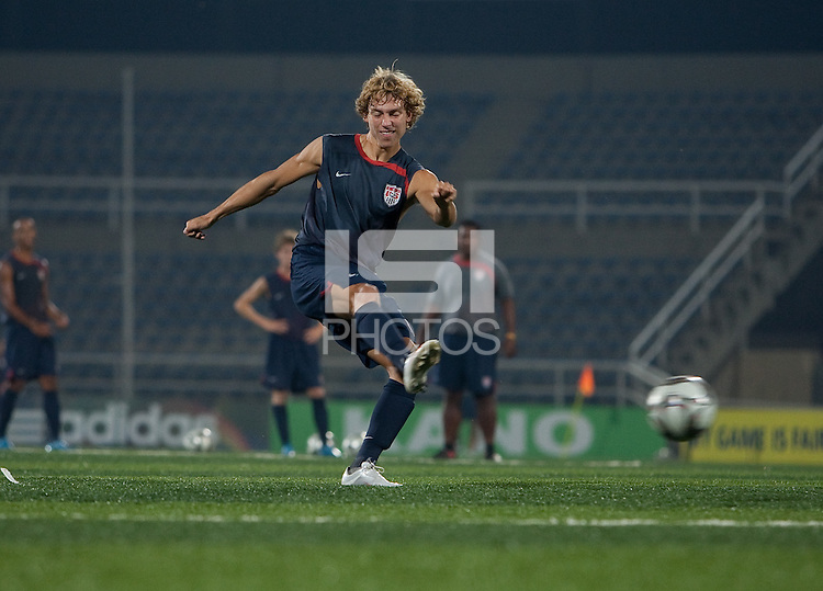 Andrew Craven. U.S. Under-17 Men Training in Kano, Nigeria.