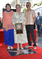 LOS ANGELES, CA. September 20, 2016: Shirley MacLaine &amp; Kathy Bates &amp; Billy Bob Thornton at the Hollywood Walk of Fame star ceremony honoring actress Kathy Bates.<br /> Picture: Paul Smith / Featureflash