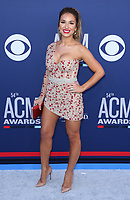 07 April 2019 - Las Vegas, NV - Jessie James Decker. 2019 ACM Awards at MGM Grand Garden Arena, Arrivals.<br /> CAP/ADM/MJT<br /> &copy; MJT/ADM/Capital Pictures