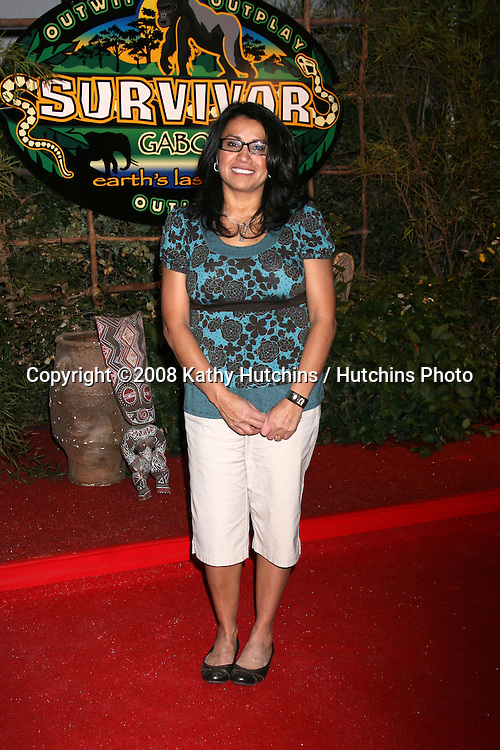 Susie Smith at the Press Line for the Survivor Gabon Finale at CBS Television City, Los Angeles, CA on December 14, 2008.©2008 Kathy Hutchins / Hutchins Photo...                .