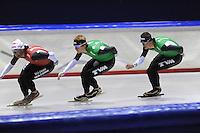 SCHAATSEN: HEERENVEEN: Thialf, 25-06-2012, Zomerijs, TVM schaatsploeg, Konrad Niedzwiedzki, Douwe de Vries, Sven Kramer, ©foto Martin de Jong