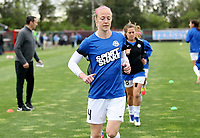 Piscataway, NJ - Sunday April 30, 2017: Becky Sauerbrunn during a regular season National Women's Soccer League (NWSL) match between Sky Blue FC and FC Kansas City at Yurcak Field.