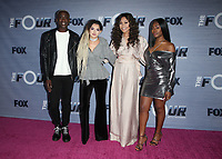 WEST HOLLYWOOD, CA - FEBRUARY 8: Vincint, Vincint Cannady, Zhavia, Evvie McKinney, Candice Boyd, at The FOX season finale viewing party for The Four: Battle For Stardom at Delilah in West Hollywood, California on February 8, 2018. Credit: Faye Sadou/MediaPunch