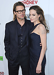 """Brad Pitt and Angelina Jolie attends """"In The Land Of Blood And Honey"""" Los Angeles Premiere held at The Arclight Theatre in Hollywood, California on December 08,2011                                                                               © 2011 Hollywood Press Agency"""
