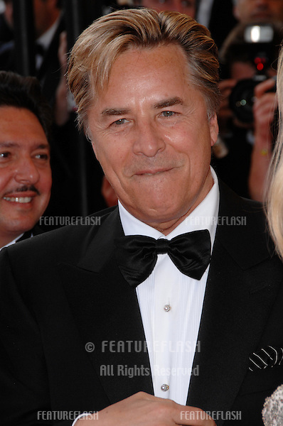 "Don Johnson at screening for ""No Country for Old Men"" at the 60th Annual International Film Festival de Cannes. .May 19, 2007  Cannes, France..© 2007 Paul Smith / Featureflash"