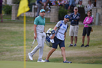 Sergio Garcia (ESP) looks over his eagle attempt after driving the green on 5 during day 4 of the WGC Dell Match Play, at the Austin Country Club, Austin, Texas, USA. 3/30/2019.<br /> Picture: Golffile | Ken Murray<br /> <br /> <br /> All photo usage must carry mandatory copyright credit (© Golffile | Ken Murray)
