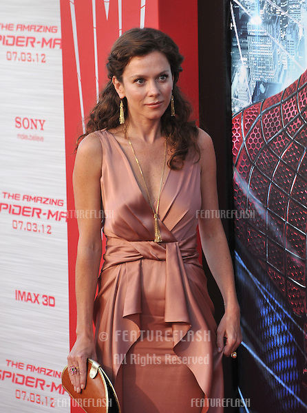 "Anna Friel at the world premiere of ""The Amazing Spider-Man"" at Regency Village Theatre, Westwood..June 29, 2012  Los Angeles, CA.Picture: Paul Smith / Featureflash"