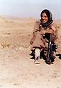 Iran 1981. In Khalifan, Soheila Ghassemlou, peshmerga of Fedayin Khalk party<br /> <br /> Iran 1981. Soheila Ghassemlou, femme peshmerga du parti du Peuple a Khalifan