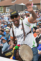 Drummers from the Bharat Army during India vs Australia, ICC World Cup Cricket at The Oval on 9th June 2019