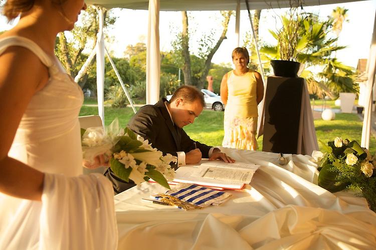 Casamiento de Felipe e Isabel.