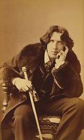 Oscar Wilde by Napoleon Sarony; 1882,