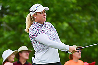 Brittany Lincicome (USA) watches her tee shot on 7 during Thursday's first round of the 72nd U.S. Women's Open Championship, at Trump National Golf Club, Bedminster, New Jersey. 7/13/2017.<br /> Picture: Golffile | Ken Murray<br /> <br /> <br /> All photo usage must carry mandatory copyright credit (&copy; Golffile | Ken Murray)