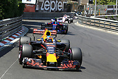 May 28th 2017, Monaco; F1 Grand Prix of Monaco Race Day;  Daniel Ricciardo - Red Bull Racing RB13 who came in 3rd place