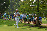 Adrian Otaegui (ESP) grabs a drink as he heads down 6 during 4th round of the 100th PGA Championship at Bellerive Country Club, St. Louis, Missouri. 8/12/2018.<br /> Picture: Golffile   Ken Murray<br /> <br /> All photo usage must carry mandatory copyright credit (© Golffile   Ken Murray)