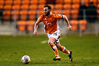 Blackpool's Jimmy Ryan in action<br /> <br /> Photographer Richard Martin-Roberts/CameraSport<br /> <br /> The EFL Sky Bet League One - Blackpool v Charlton Athletic - Tuesday 13th March 2018 - Bloomfield Road - Blackpool<br /> <br /> World Copyright &not;&copy; 2018 CameraSport. All rights reserved. 43 Linden Ave. Countesthorpe. Leicester. England. LE8 5PG - Tel: +44 (0) 116 277 4147 - admin@camerasport.com - www.camerasport.com