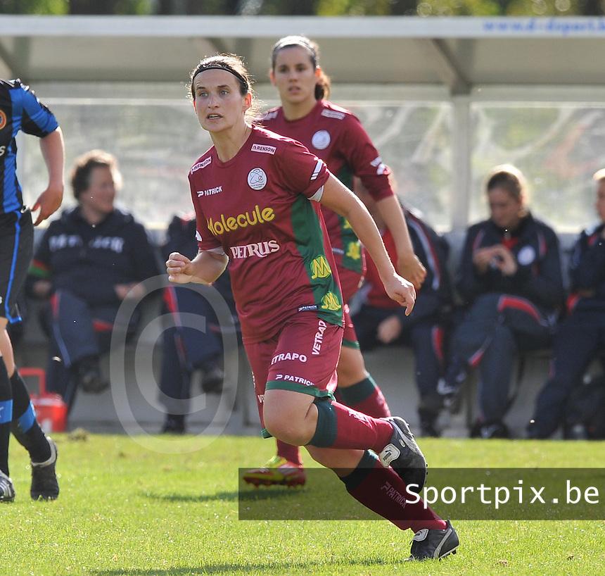 Dames Zulte Waregem : Joke Verlinde.foto DAVID CATRY / Vrouwenteam.be