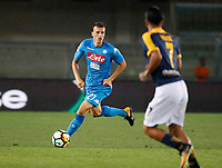 \221\ during the  italian serie A soccer match,between Hellas Verona and SSC Napoli  at  the Bentegodi    stadium in Verona  Italy , August 19, 2017