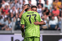 Paulo Dybala of Juventus , Gianluigi Buffon of Juventus <br /> Torino 28/09/2019 Allianz Stadium <br /> Football Serie A 2019/2020 <br /> Juventus FC - SPAL <br /> Photo OnePlusNine / Insidefoto