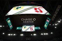 SAN FRANCISCO, CA - NOVEMBER 09: San Francisco, CA - November 9, 2019: Chase Center at the Chase Center. The Stanford Cardinal defeated the USF Dons 97-71. during a game between University of San Francisco and Stanford Basketball W at Chase Center on November 09, 2019 in San Francisco, California.