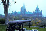 Noon gun before Parliament Buildings, Canada