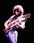 Jimmy Page 1983 ARMS Benefit.© Chris Walter.