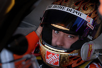 Apr 19, 2007; Avondale, AZ, USA; Nascar Nextel Cup Series driver (20) Tony Stewart in his car during practice for the Subway Fresh Fit 500 at Phoenix International Raceway. Mandatory Credit: Mark J. Rebilas