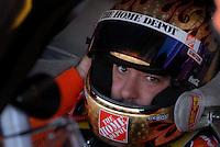 Apr 19, 2007; Avondale, AZ, USA; Nascar Nextel Cup Series driver (20) Tony Stewart in his car during practice for the Subway Fresh Fit 500 at Phoenix International Raceway. Mandatory Credit: Mark J. Rebilas