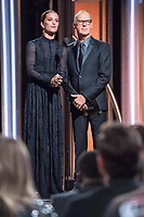 Alicia Vikander and Michael Keaton present during the 75th Annual Golden Globe Awards at the Beverly Hilton in Beverly Hills, CA on Sunday, January 7, 2018.<br /> *Editorial Use Only*<br /> CAP/PLF/HFPA<br /> &copy;HFPA/PLF/Capital Pictures