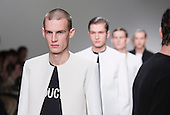 Monday, 7 January 2013. London, United Kingdom. Lee Roach's Autumn/Winter 2013 catwalk show collection at London Collections: Men. Menswear fashion event which used to be part of London Fashion Week. Photo credit: CatwalkFashion/Alamy Live News