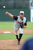 July 14th 2008:  Andrew Schindling of the Aberdeen Ironbirds, Class-A affiliate of the Baltimore Orioles, during a game at Dwyer Stadium in Batavia, NY.  Photo by:  Mike Janes/Four Seam Images